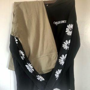 Wild Fable Leggings Outfit Bundle